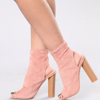 Invite Only Boot - Rose