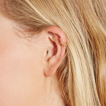 Vine Leaf Ear Cuff Set