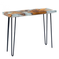 Fissure Console Table   Natural