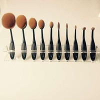 Professional 10 Piece Makeup Brushes Set Best Gift
