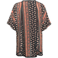 Full Tilt Boho Print Girls Kimono Multi  In Sizes