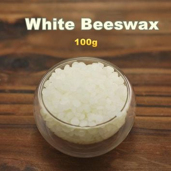 Natural white beeswax lip balm 100g domestic