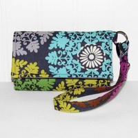 Medallions on Gray Cell Phone Case iPhone Smartphone Wallet Wristlet
