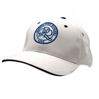 Queens Park Rangers White Baseball Cap (Official Merchandise)