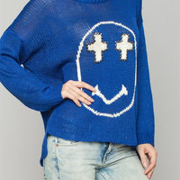 Happy Cross Knit Sweater