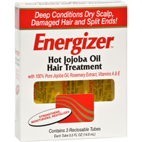 Hobe Labs Energizer Hot Jojoba Oil Hair Treatment - 0.5 Fl Oz