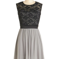 ModCloth Mid-length Sleeveless A-line Wish Upon the Stars Dress