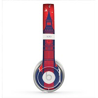 The Vintage London England Flag Skin for the Beats by Dre Solo 2 Headphones