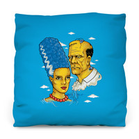 Reanimated Outdoor Throw Pillow