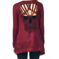 Skull Hollow Out Pattern Variety of Colors FREE SHIPPING !!!