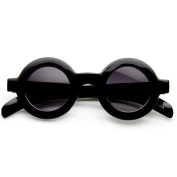 RAINA RETRO CIRCLE SUNGLASSES