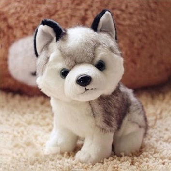 Plush Stuffed Husky Dog Toy Doll Birthday Girlfriend Baby Kids Child Gifts Cute