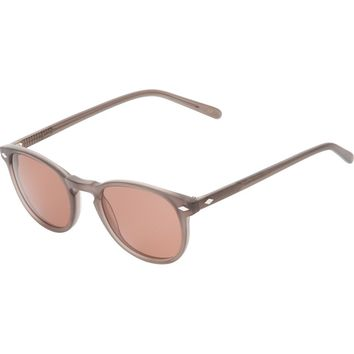 Lesca Circle Frame Sunglasses