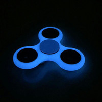 Glow Hand Spinner Tri Fidget Steel Ball Desk Toy EDC Stocking Stuffer Kids/Adult