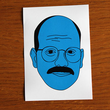 Arrested Development Sticker - Tobias Funke  - I'm afraid I just blue myself - David Cross Fünke