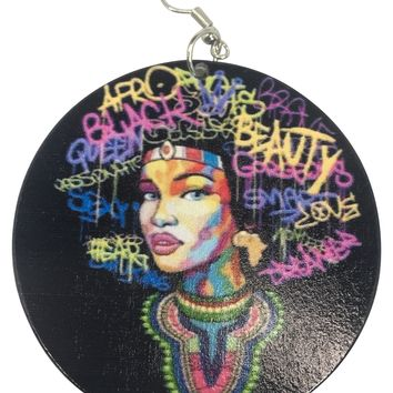 Sheree = Natural hair earrings | Afrocentric accessories | jewelry | ear candy