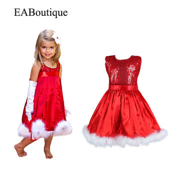 Kids Christmas dress High Fashion Beautiful Bling Sequins girl p bc1717a31