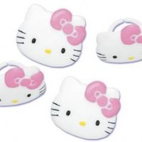 Hello Kitty Cupcake Rings - 12ct