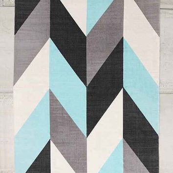 Assembly Home Chevron Flip Printed Rug