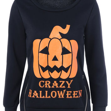 Hoodies Tops Hot Sale Halloween Women's Fashion T-shirts [9307401156]