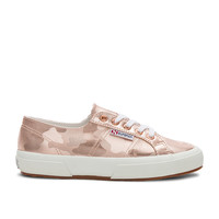 Superga 2750 Army Chromw Sneaker in Rose Gold