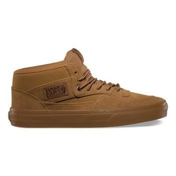 Vans Suede Buck Half Cab (tobacco brown)