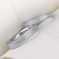 4/6mm width tungsten wedding bands ring,couple ring, simple classic pull sand ring,can engraving (price is for one ring)