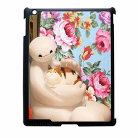 Big Hero 6 Baymax Floral Disney iPad 4 Case