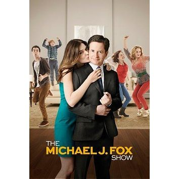 Michael J Fox Show poster Metal Sign Wall Art 8in x 12in