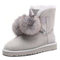 DCCK UGG waterproof anti-stain boots gray