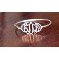 Filigree Monogram Bracelet