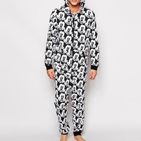 ASOS | ASOS Onesuit With Mickey Mouse Print at ASOS