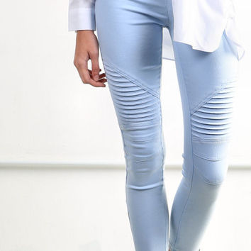 Take Me There Crop Motor Leggings