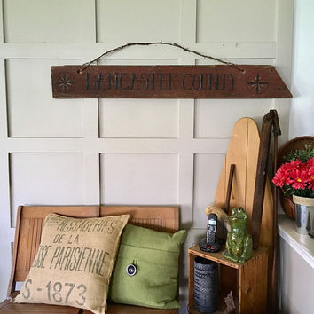 Red Barn Wood Sign, Large Primitive Painted Wood Sign, Lancaster County Barnwood Hex Sign Decor, Country Wall Art, Large Wood Sign