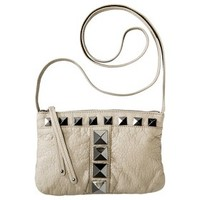 Mossimo® Zip Closure Crossbody Handbag - Stone