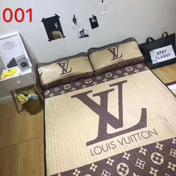 """Gotopfashion CHANEL LV Water - washed air-conditioner ice - soft mat and Pillow cases three-piece  H-A-ALCLFS"""""""