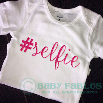 Selfie bodysuit gold glitter baby shirt baby girl glitter tee glitter shirt Pink Glitter Princess Trendy Hipster Take Home Outfit