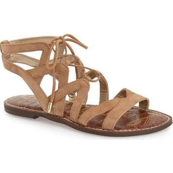 Sam Edelman 'Gemma' Lace-Up Sandal (Women) | Nordstrom