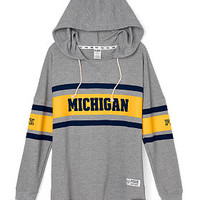 University of Michigan Varsity Pullover Hoodie - PINK - Victoria's Secret