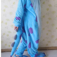 Cosplay  Sulley  Monsters  University  Adult  Pajamas