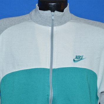 80s Nike Color Block Track Jacket Small