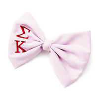 Sigma Kappa Sorority Lavender Bow Hair Clip