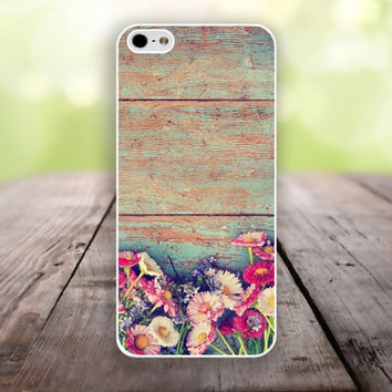 iPhone 5S case dilapidated wood and flowers iphone 6 plus,Feather IPhone 4,4s case,color IPhone 6,vivid IPhone 5c,IPhone 5 case Waterproof 776