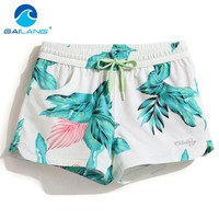 Gailang Brand Women Shorts Boardshorts Swimwear Swimsuit Woman new Boxer Trunks Quick Drying Board Shorts Short Bottoms Casual