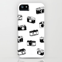 click click click camera iPhone & iPod Case by Moikka Paper