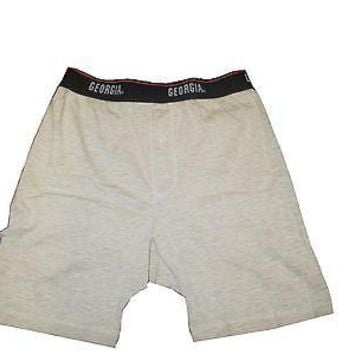 Georgia Bulldogs Men's Oatmeal Colored Boxer Shorts