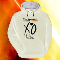 XO The Weeknd hoodie on S,M,L,XL,XXL,3XL heppy feed.