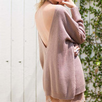 The Low-Back Sweater