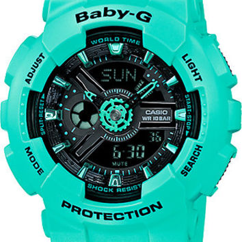 G-Shock Baby-G BA111-3A Street Neon Teal Watch