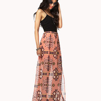 Southwestern Maxi Dress